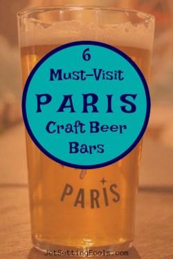 6 Paris Craft Beer Bars by JetSettingFools.com