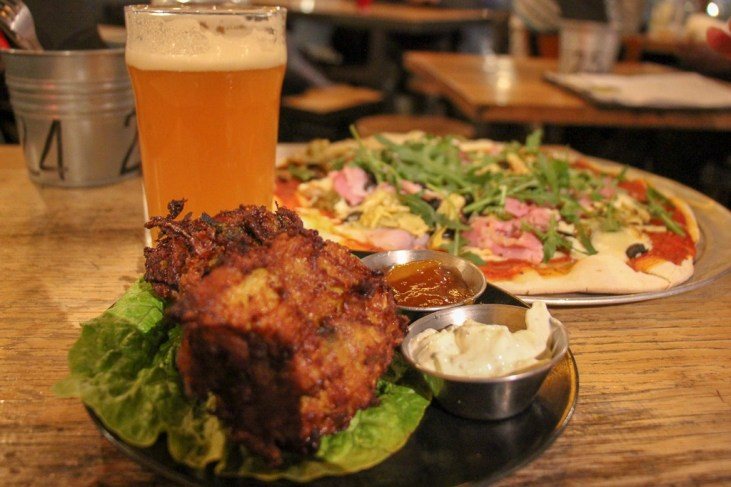 Craft Beer and Food at Paname Brewing Company Bar in Paris, France
