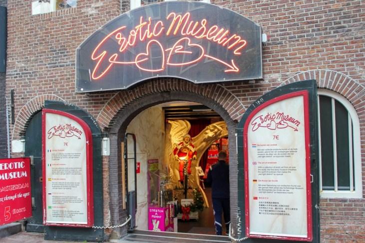 Museum of erotica, Amsterdam