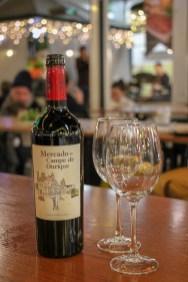 Red Wine made special for Mercado de Campo Ourique, Lisbon, Portugal