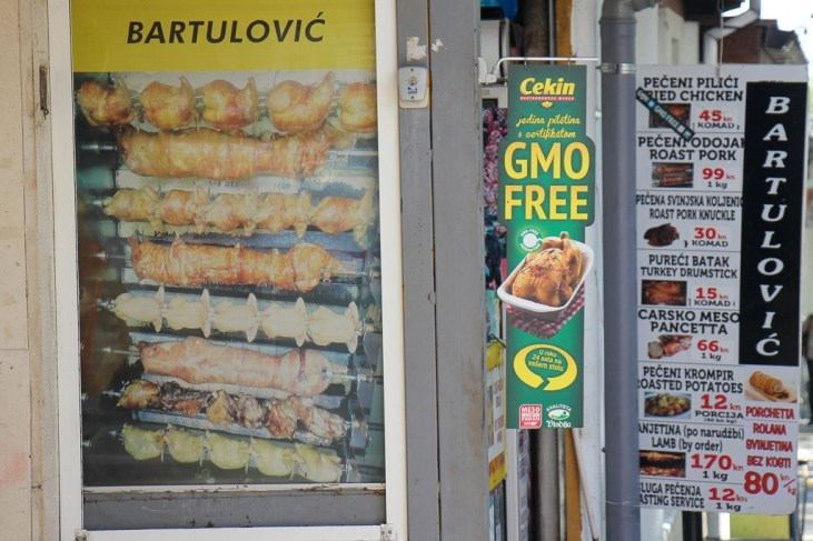 Bartulovic restaurant at Green Market in Split, Croatia