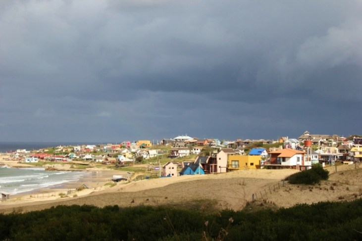 Viewpoint overlooking the town of Punta del Diablo, Uruguay
