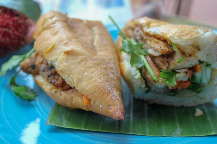 Banh Mi Sandwiches in Hoi An, Vietnam