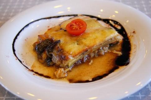 Ratatouille starter for lunch aboard Almissa on Sail Croatia Explorer Cruise
