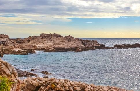 Dance Beach in Dubrovnik, Croatia