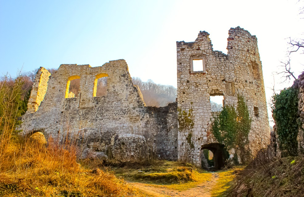 Old Town ruins in Samobor, Croatia