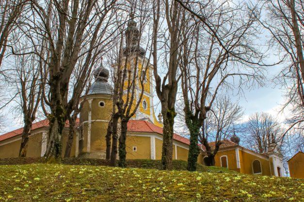 Church in Krapina, Croatia