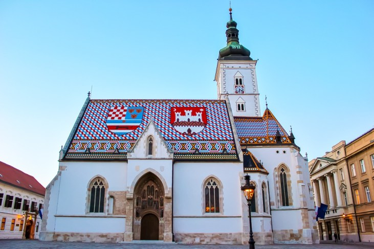 St. Mark's Church in Zagreb, Croatia