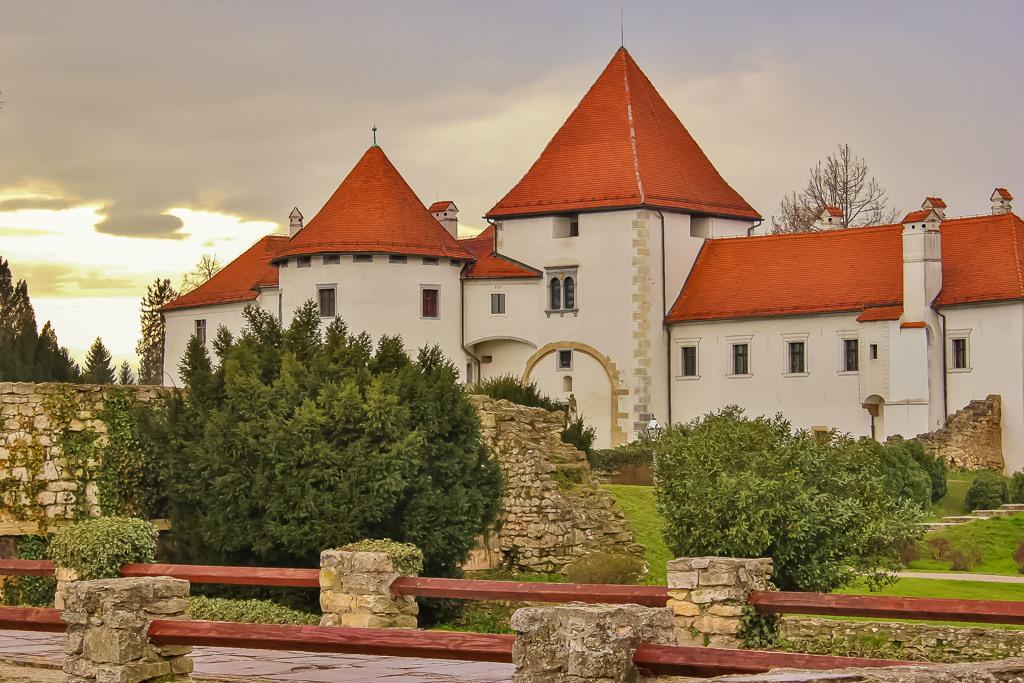Varazdin Castle in Croatia