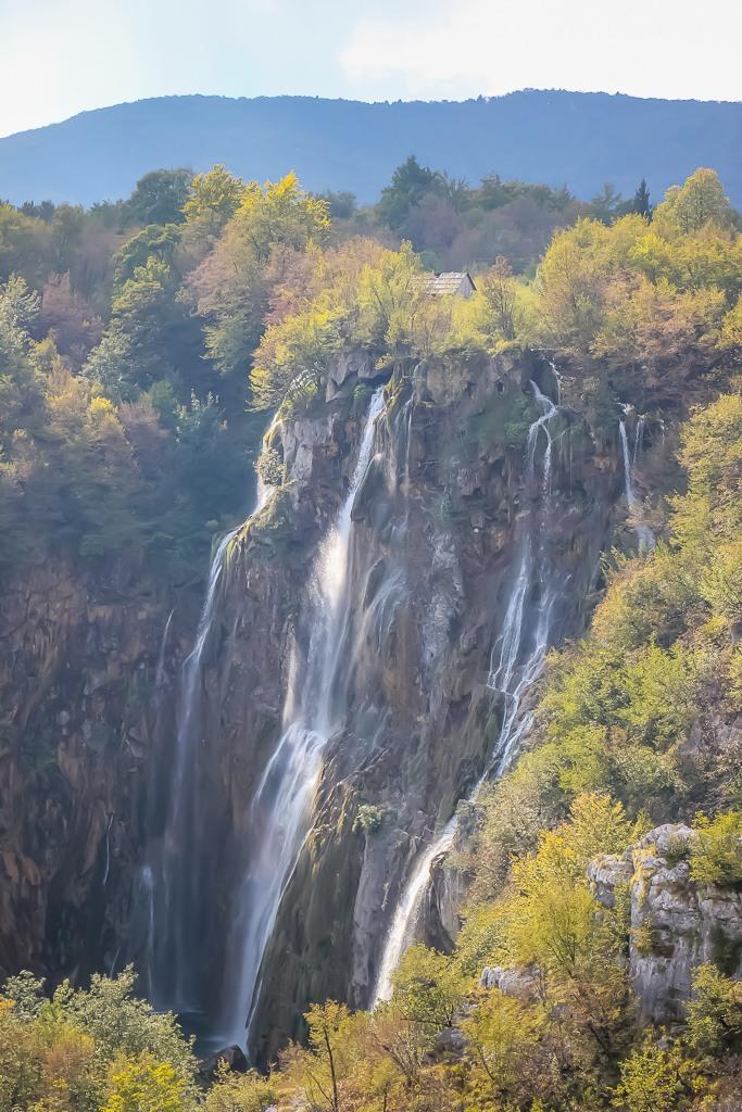 Veliki Slap waterfall at Plitvice Lakes NP in Croatia