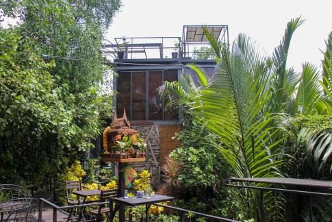 Bangkok Tree House in Bang Kachao Island in Bangkok, Thailand