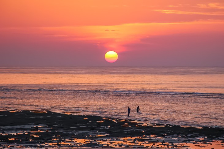Sunset on Kamala Beach on Phuket Island, Thailand