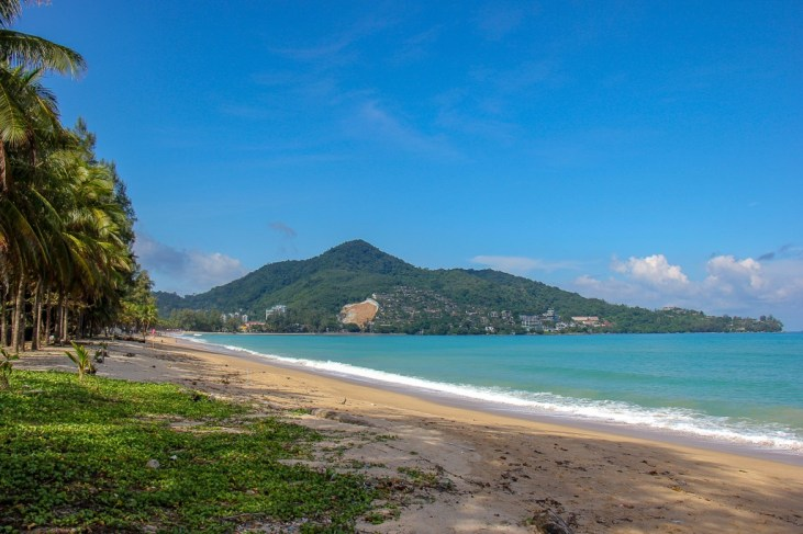 Kamala Beach on Phuket Island, Thailand