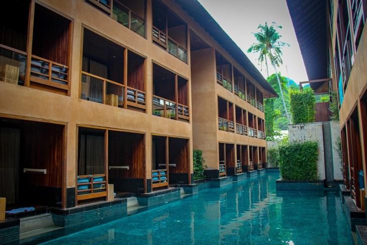 Pool at the Avatar Hotel in Railay Beach, Thailand