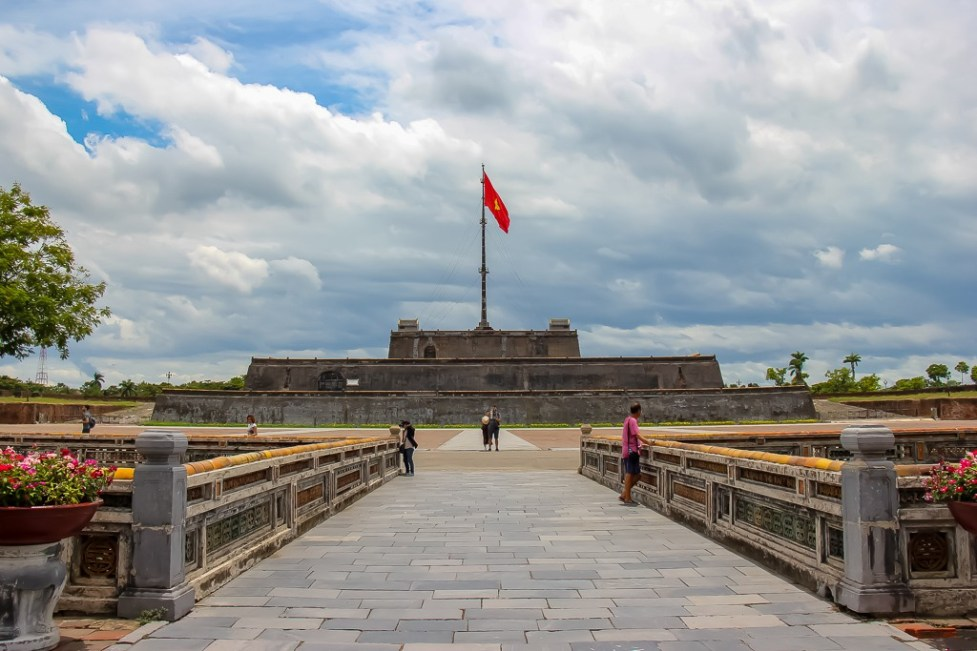Entrance to Imperial City, Hue, Vietnam