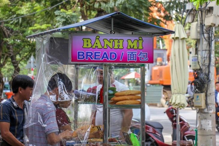 Banh Mi Street Stand, Da Nang, Vietnam