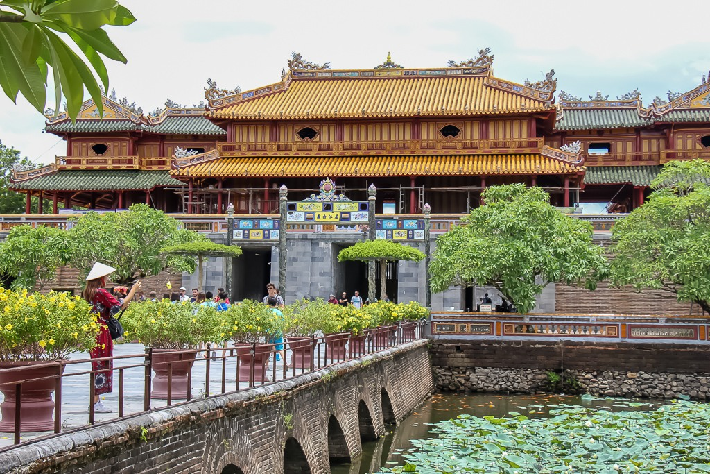Ancient Imperial City, Hue, VIetnam
