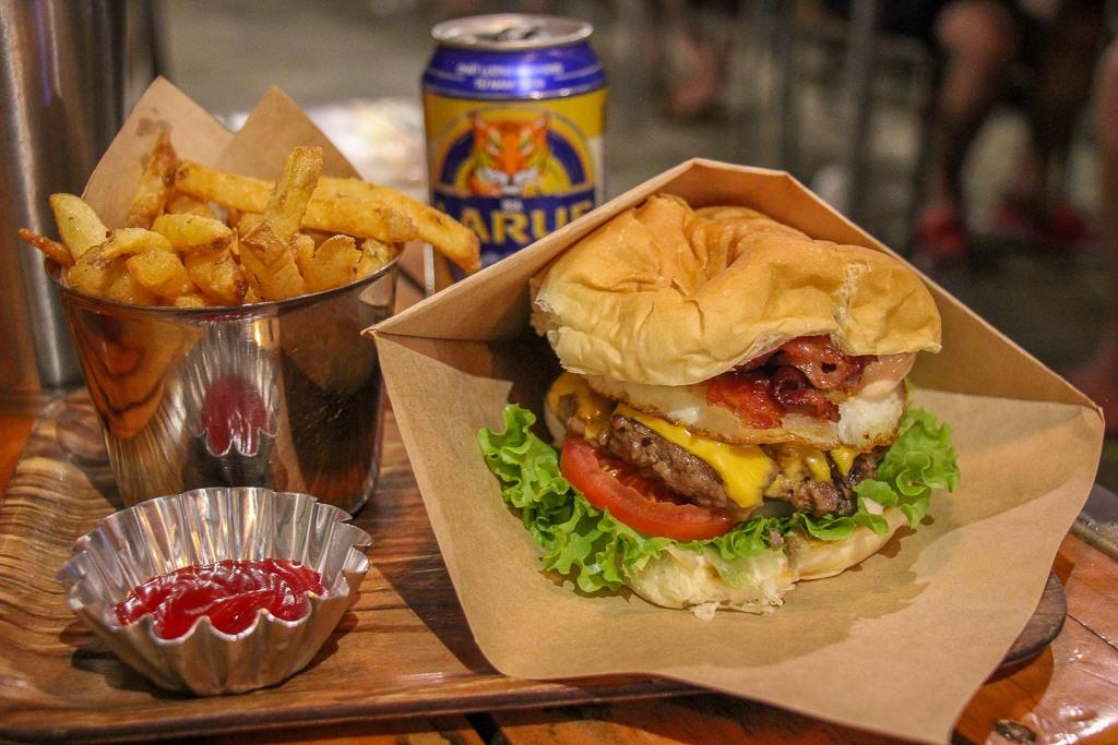 Best Cheeseburger in Da Nang, Vietnam