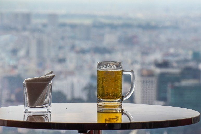 Cool Tiger Beer, Skydeck, Saigon, HCMC, Vietnam