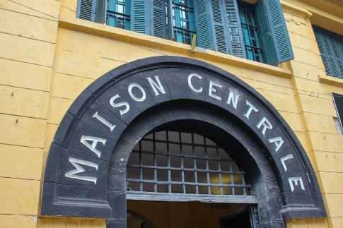Maison Centrale better known as the Hanoi Hilton Prison in Hanoi, Vietnam