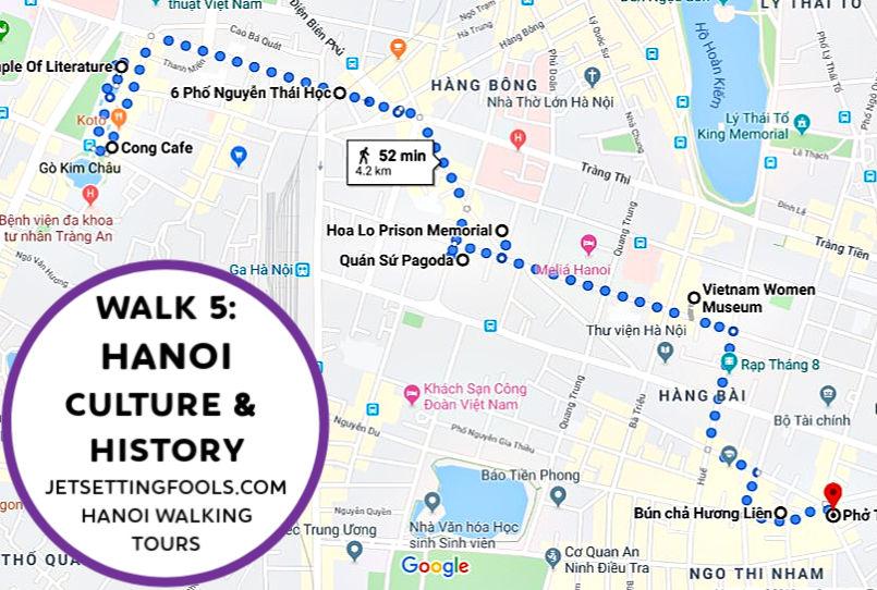 Hanoi Walking Tour Walk 5 by JetSettingFools.com