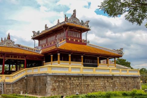 Wooden Pagoda, Imperial City, Hue, Vietnam