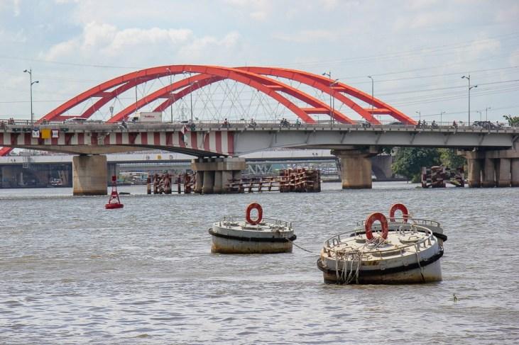 Saigon River, HCMC, Vietnam