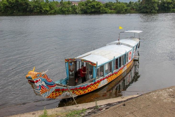 Perfume Riverboat, Hue, Vietnam