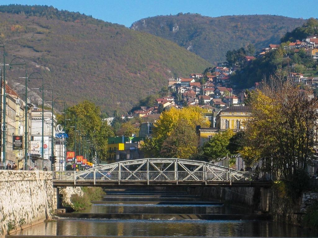 Skenderija Bridge Sarajevo