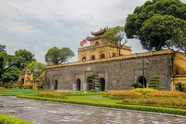 Historic Thang Long Imperial Citadel in Hanoi, Vietnam