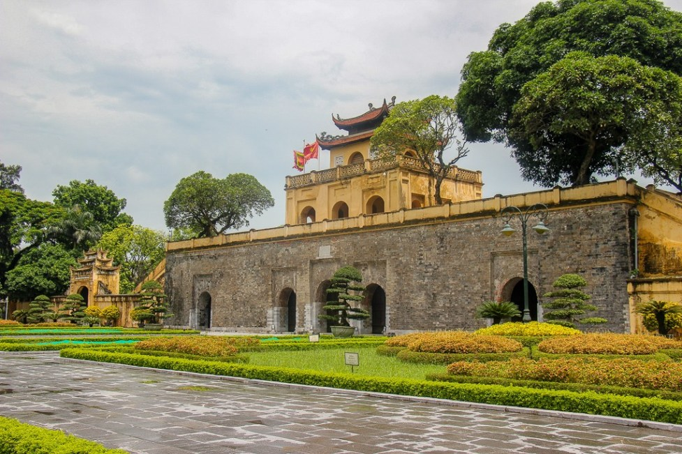 Historic Thang Long Imperial Citadel in Hanoi, Vietnam
