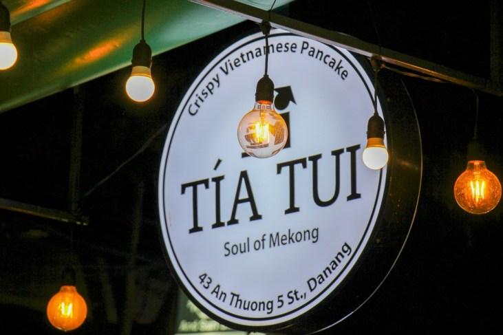 Family run Tia Tui Restaurant, Da Nang, Vietnam