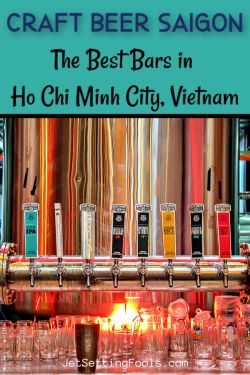 Craft Beer Saigon by JetSettingFools.com