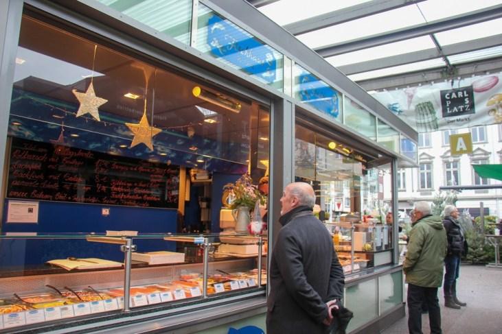 The best fish soup at Carlsplatz Market, Dusseldorf, Germany