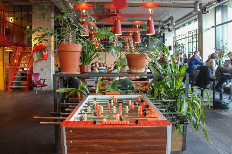 Work and play, Coworking, Volkshotel, Amsterdam, Netherlands