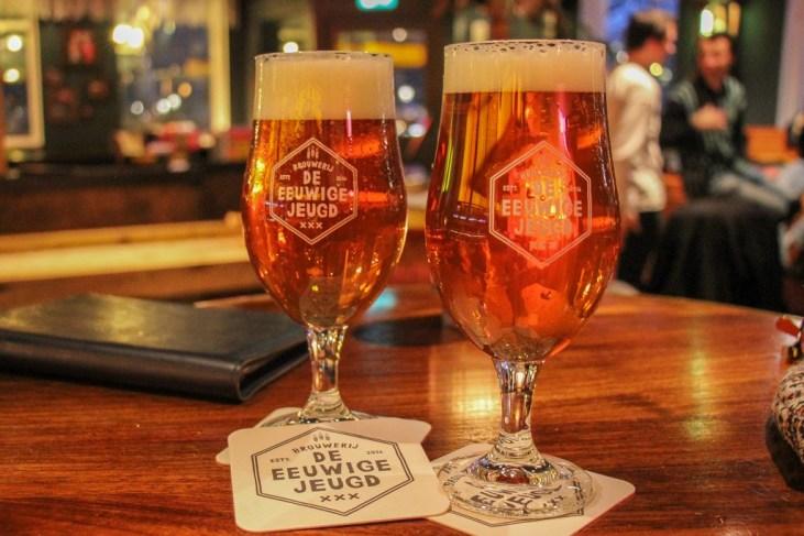 Cold beer, Craft Beers at De Eeuwige Jeugd Tap Room Amsterdam