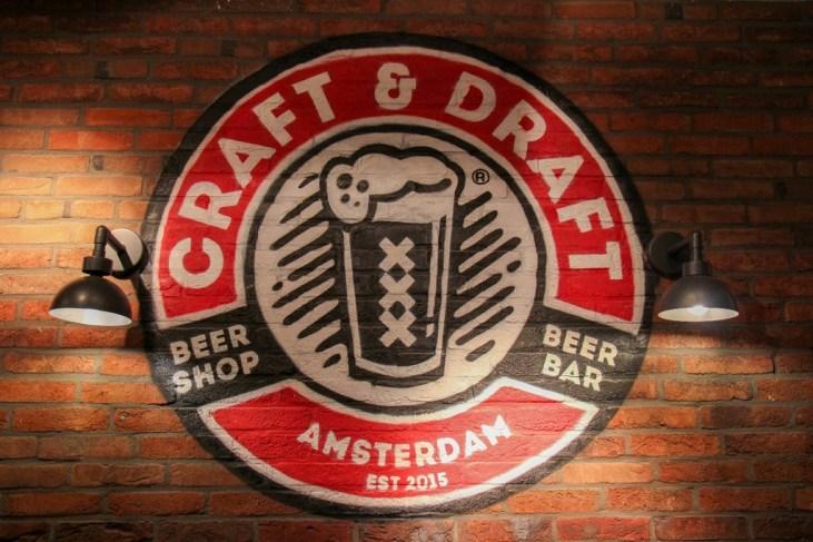 Signage, Craft and Draft Amsterdam, Craft Beer