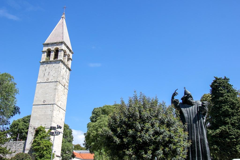 Statue Of Gregory Nin, Split, Croatia