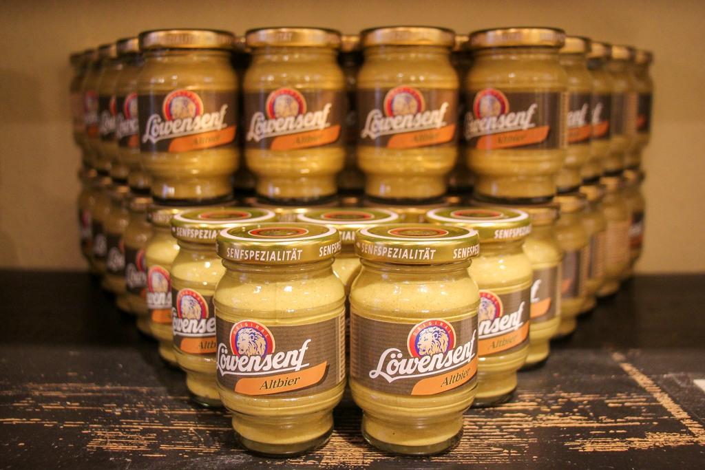 must eat mustard, Dusseldorf, Germany