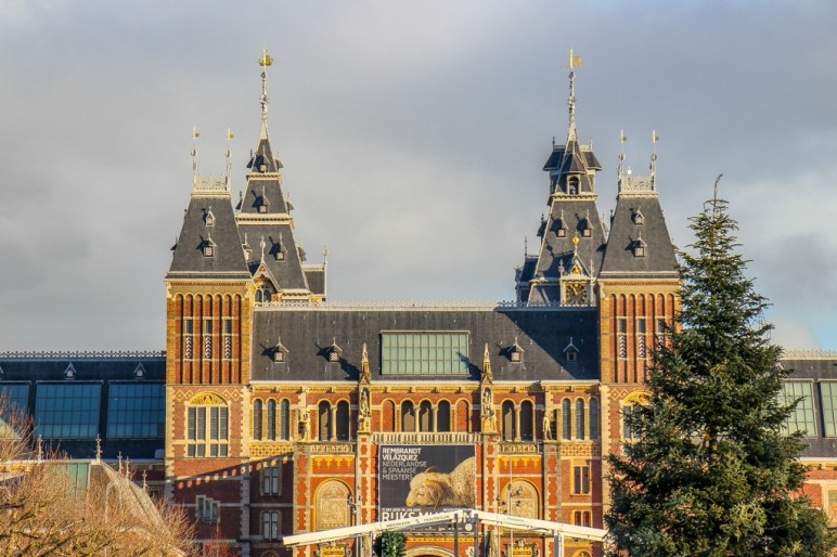 Roof detail, Rijksmuseum, Amsterdam, Netherlands
