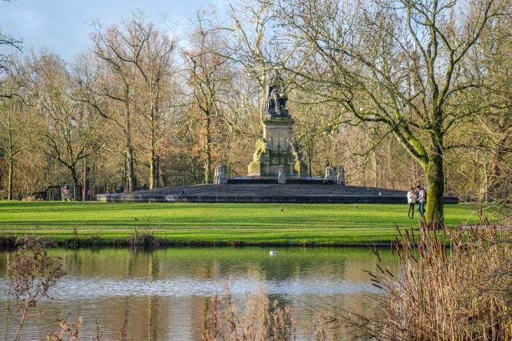 VondelPark green spaces, Amsterdam, Netherlands