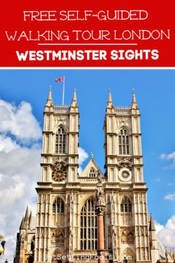 Free and Self-Guided Walking Tour London Westminster Sights by JetSettingFools.com