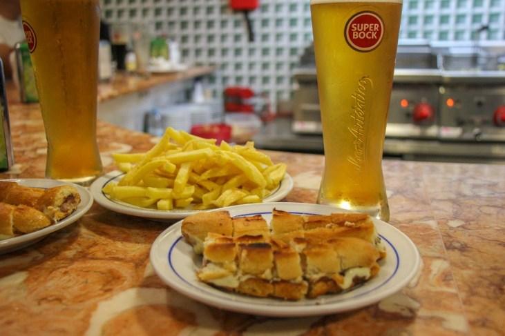 Classic Hot Dog Sandwich, Porto, Portugal