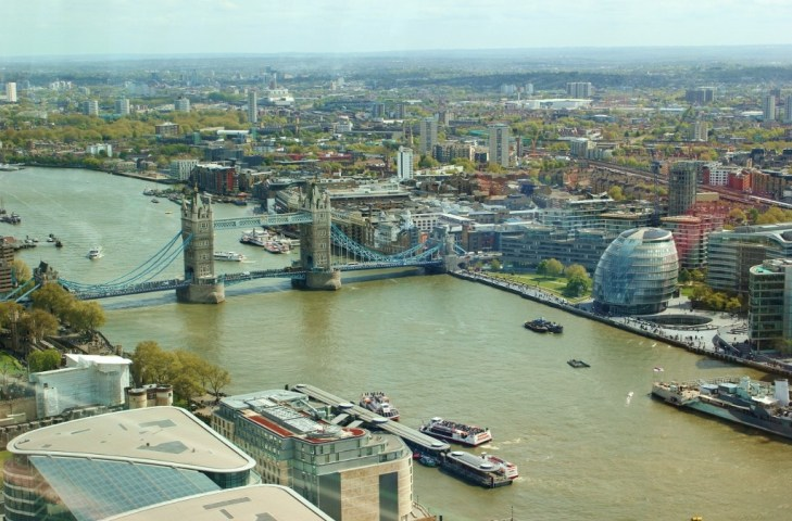 Tower Bridge View, Sky Garden, London