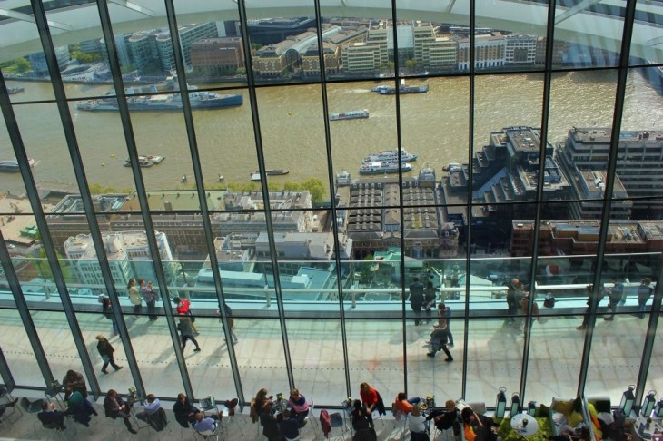 River Thames View, Sky Garden, London