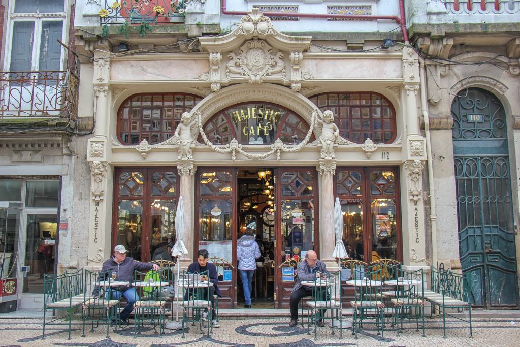 Classic Coffee, Majestic Cafe, Porto, Portugal