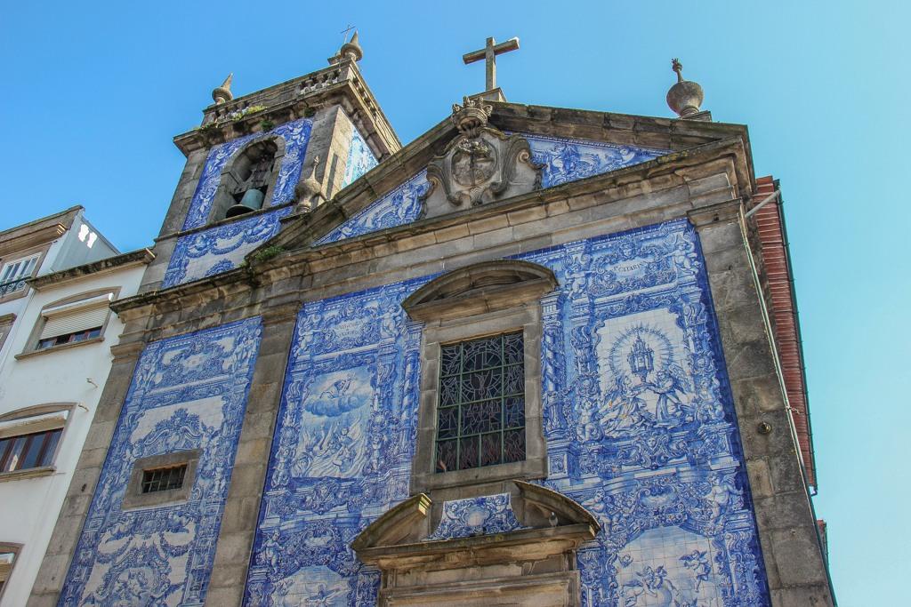 Capela das Almas Church, Porto, Portugal