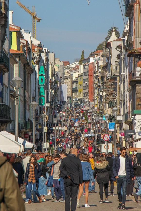 Rua de Santa Catarina Shopping Street