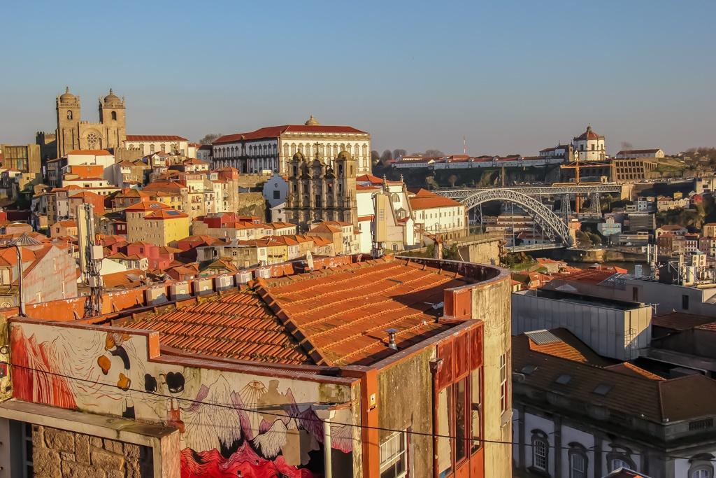 View from Miradouro da Vitoria, Porto, Portugal
