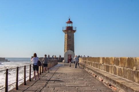 Light House at Foz do Douro, Porto, Portugal